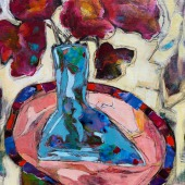nadinejohnson24x18meltedglassacrylicmixedmedia