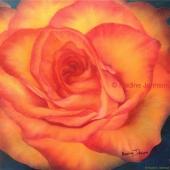 "Nadine Johnson - ""Beauty"" Oil 12"" x 12"""