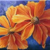 Nadine Johnson - Fire Blossoms