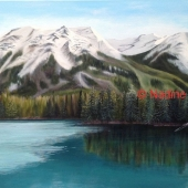 Nadine Johnson - Lake Beauvert