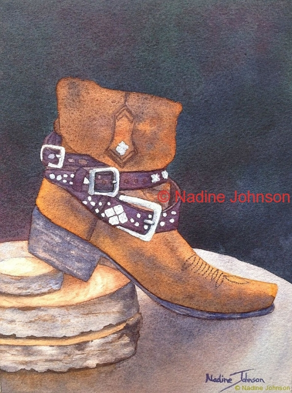 Nadine Johnson - Lone Boot