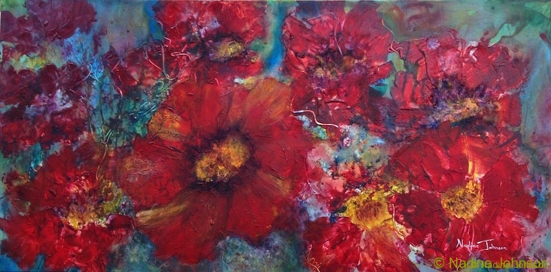 Nadine Johnson - Valley Of The Poppies